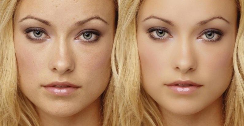 صاف کردن صورت در فتوشاپ با حفظ بافت اصلی