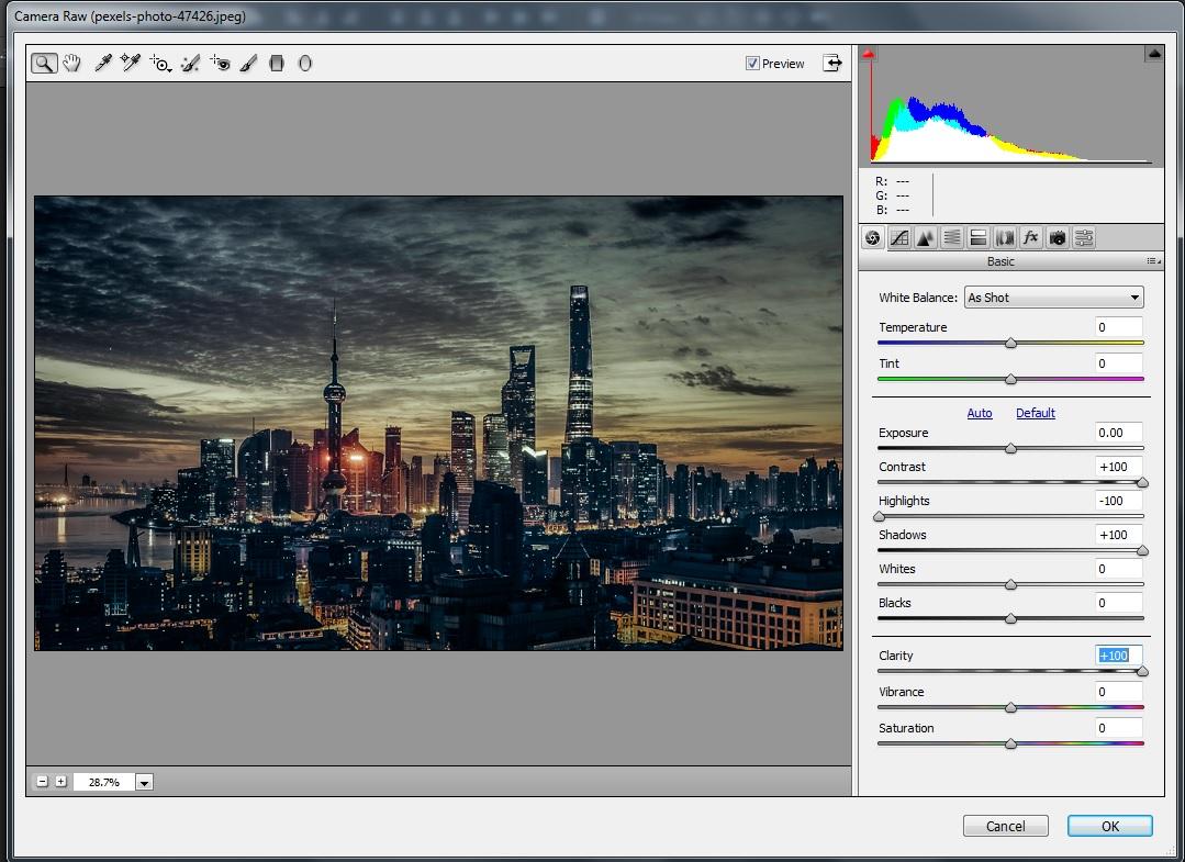 آموزش HDR کردن عکس در فتوشاپ
