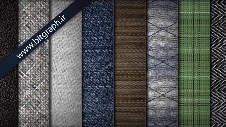8 تکسچر و پترن بافتی با کیفیت بالا