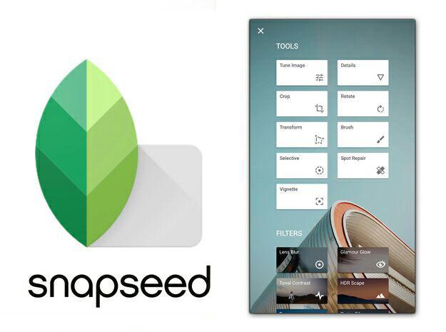 آموزش کار با نرم افزار snapseed موبایل - ویرایش عکس با موبایل