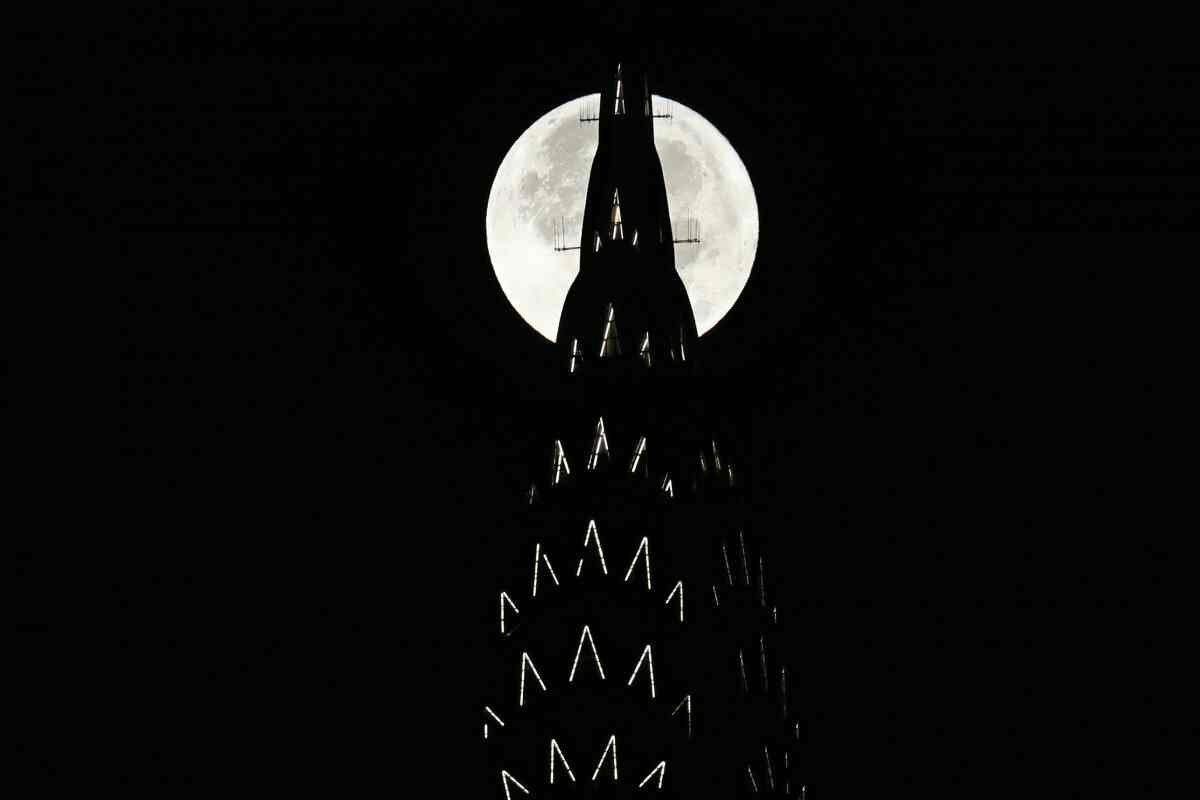 super moon سال 2016 در نیویورک آمریکا