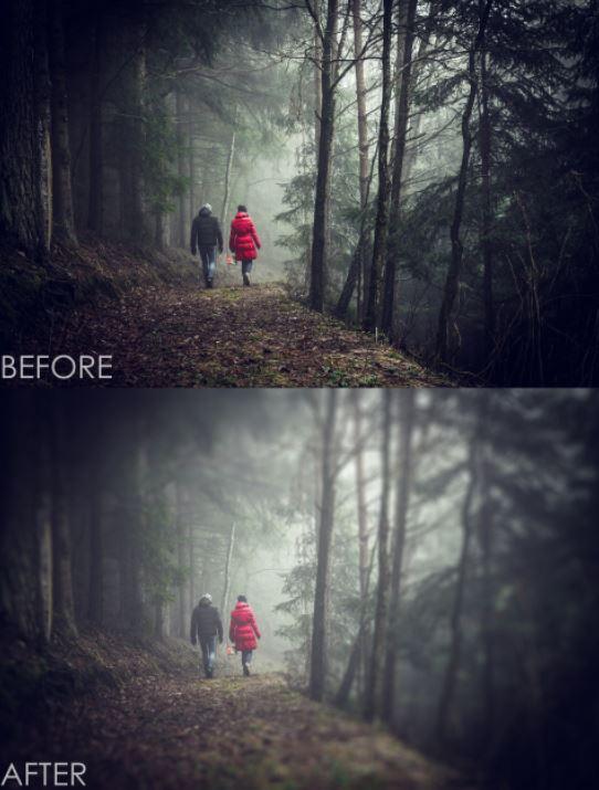 ایجاد یک افکت رویایی در عکس با فتوشاپ