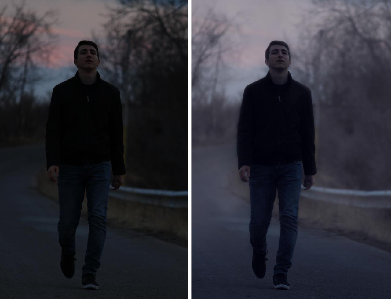 آموزش اضافه کردن مه به عکس در فتوشاپ