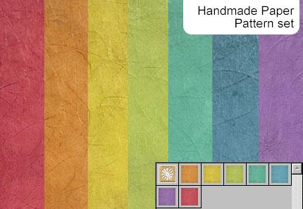 دانلود پترن کاغذ مچاله رنگی برای فتوشاپ