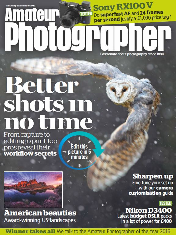 دانلود مجله عکاسی Amateur Photographer نسخه ۲۰۱۶/۱۲/03