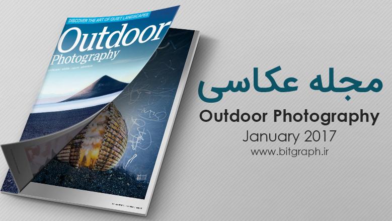 دانلود مجله عکاسی منظره Outdoor Photography - January 2017