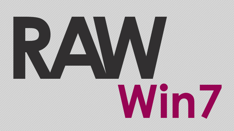 اجرا کردن فایل های RAW در ویندوز 7