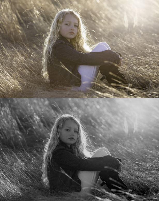 سه روش تبدیل عکس به سیاه و سفید در فتوشاپ