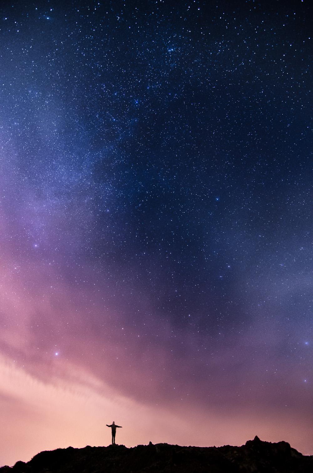 آموزش عکاسی از ستارگان و آسمان شب