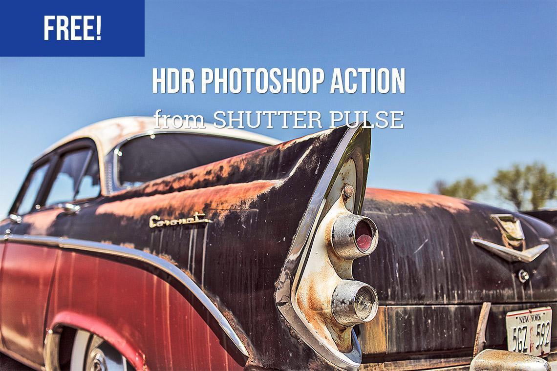 ست 30 تایی اکشن HDR کردن عکس برای فتوشاپ و لایت روم