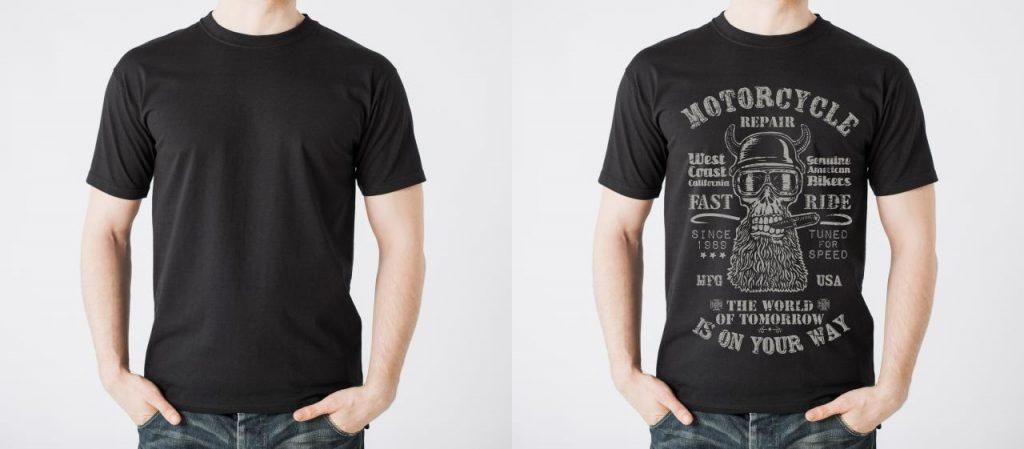 قرار دادن لوگو روی تی شرت در فتوشاپ