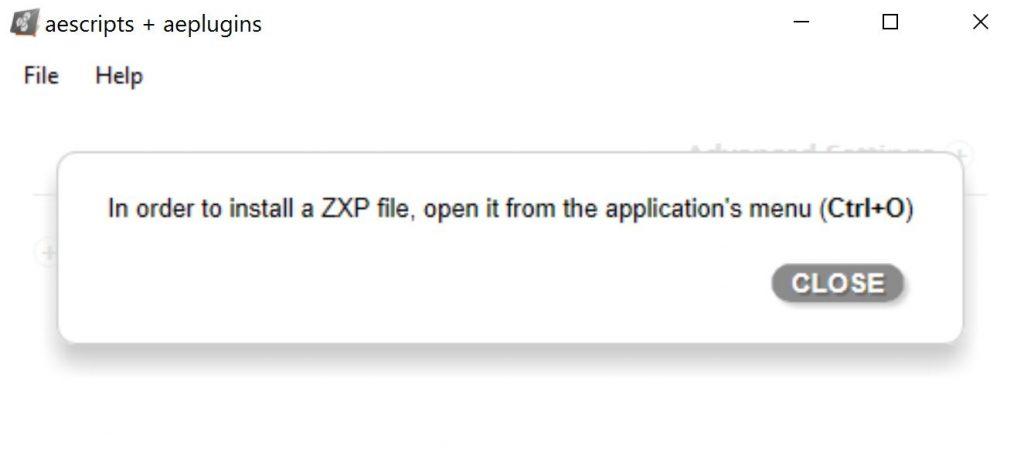 دانلود Zxp installer برای ویندوز و مک