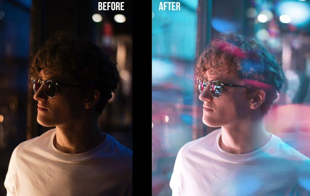 آموزش نحوه ادیت عکس ها در فتوشاپ به سبک BRANDON WOELFEL