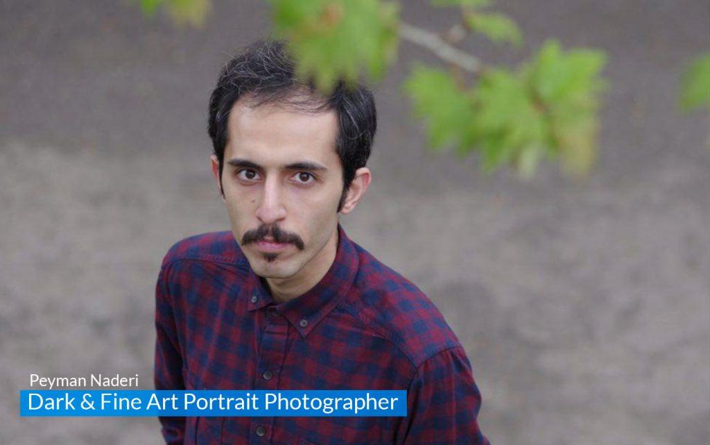 مصاحبه با پیمان نادری عکاس Fine Art Portrait