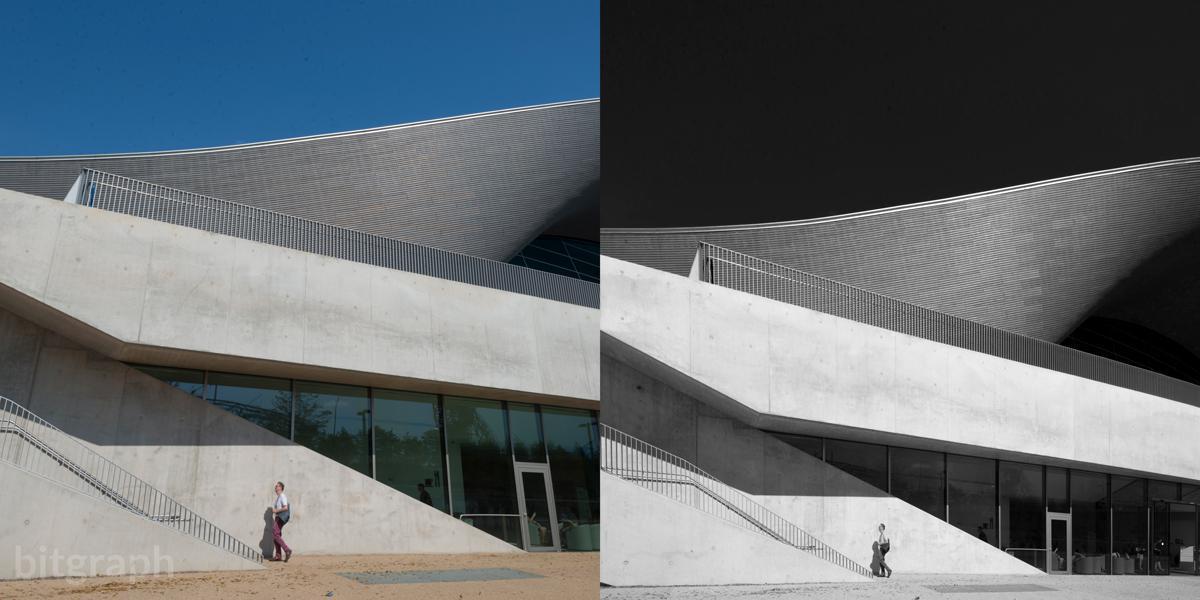 آموزش ویرایش عکس های معماری به روش سیاه و سفید