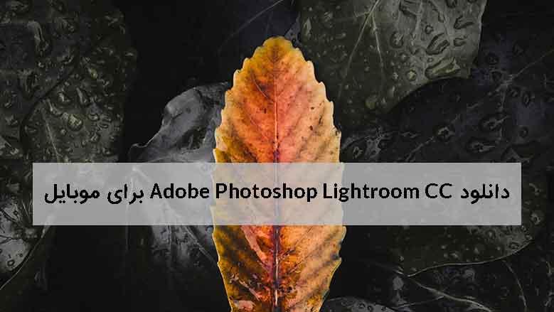 دانلود Adobe Photoshop Lightroom CC برای موبایل