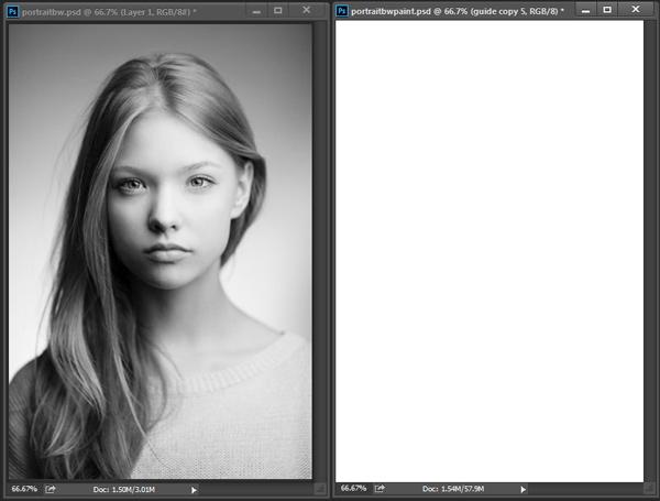 نقاشی دیجیتال چهره در فتوشاپ با شباهت باور نکردنی