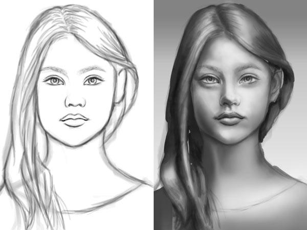 آموزش نقاشی دیجیتال در فتوشاپ