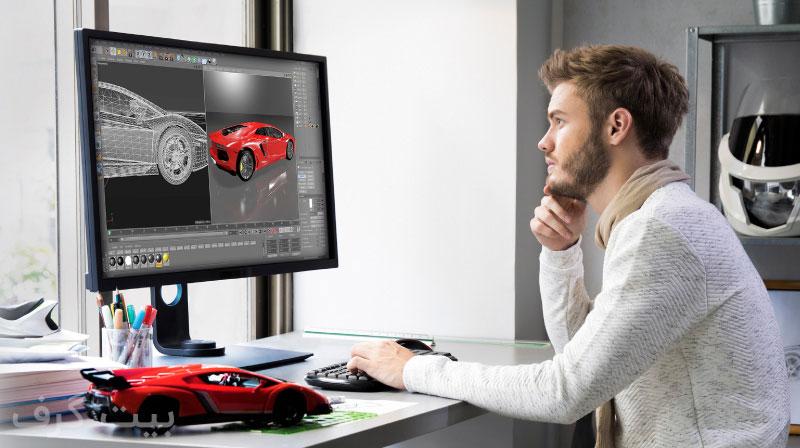 مانیتور استاندارد برای طراحی و ادیت عکس