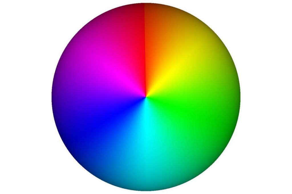گردونه رنگ های مکمل