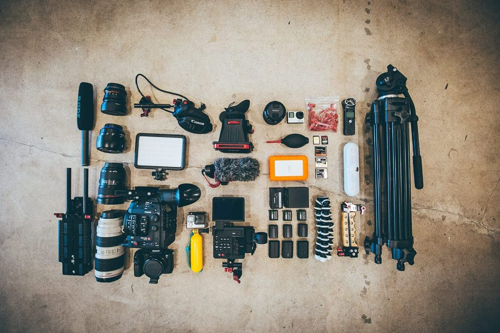 هزینه کردن برای خرید سایر تجهیزات جانبی دوربین