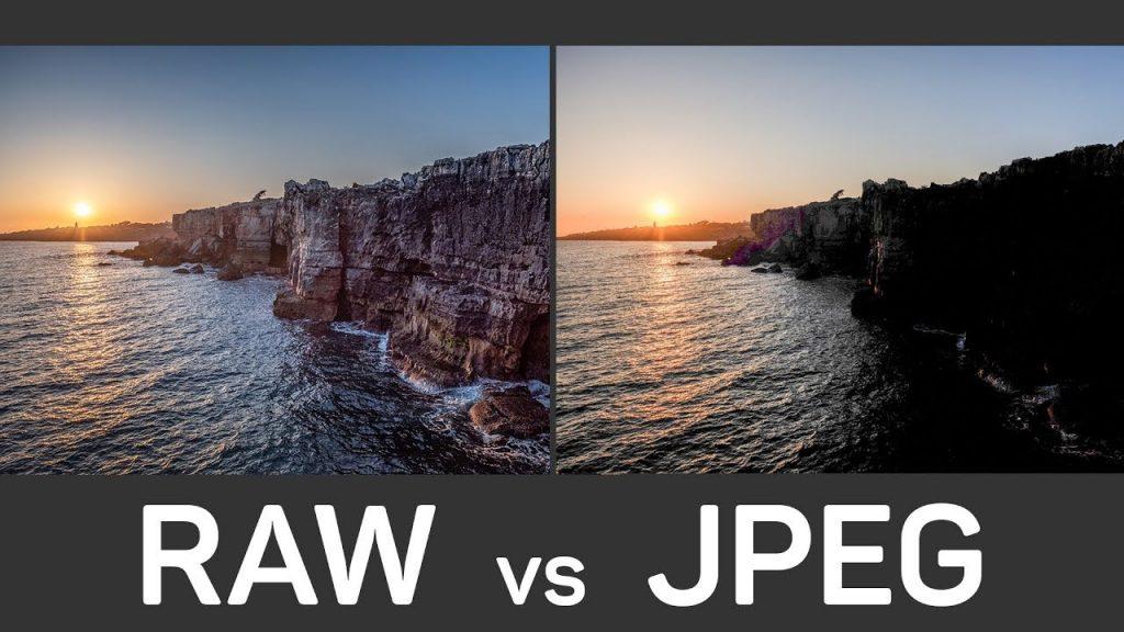 RAW یا JPEG در عکاسی
