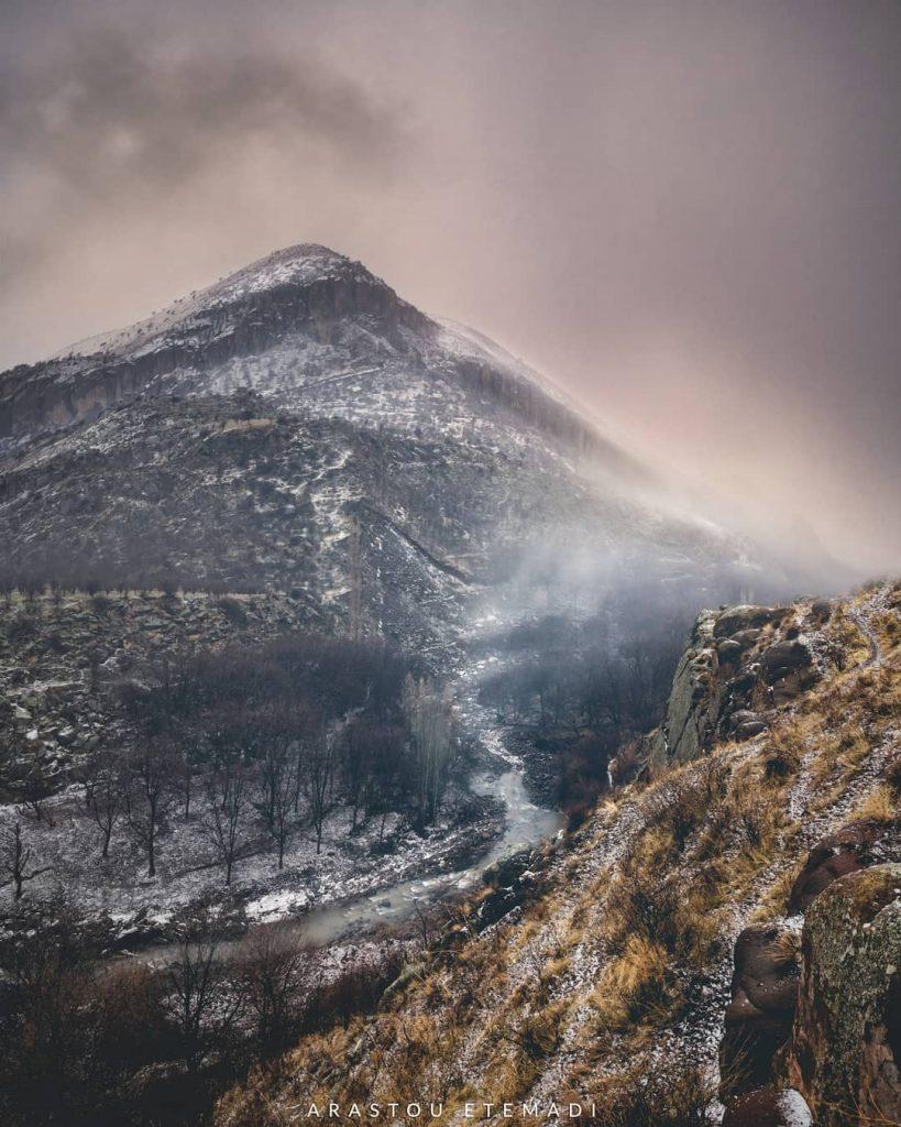عکاسی در شرایط یخبندان و بارش برف