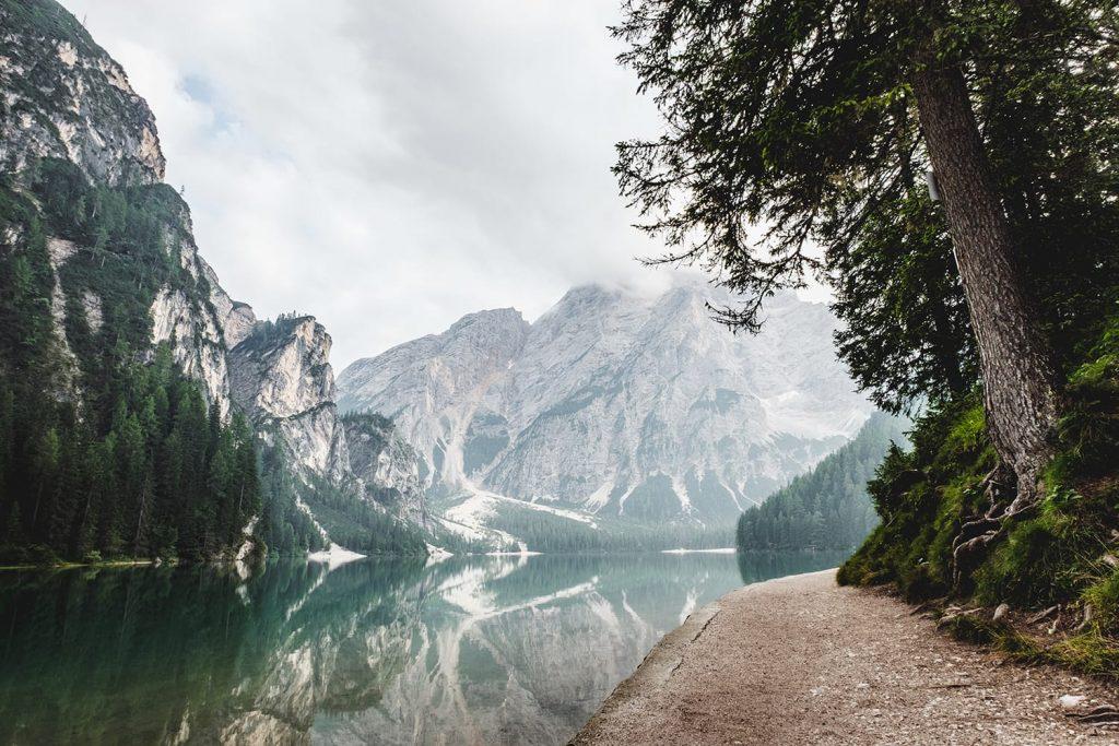 ترکیب بندی کوه در عکس های منظره