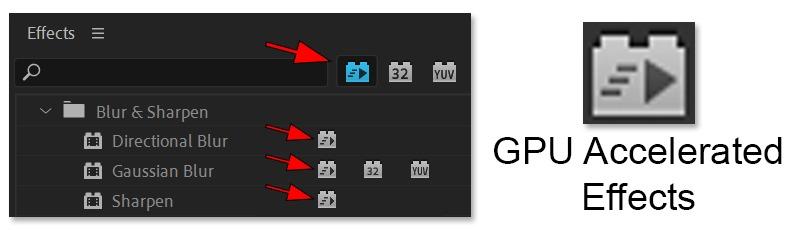لیست کارت گرافیک های پشتیبانی شده در پریمیر 2020