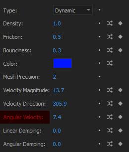 جلوگیری از انحراف پارامتر Angular Velocity در پلاگین Newton