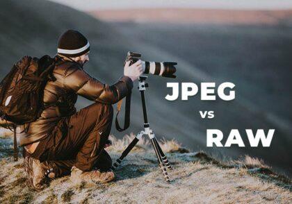 تفاوت JPEG با RAW