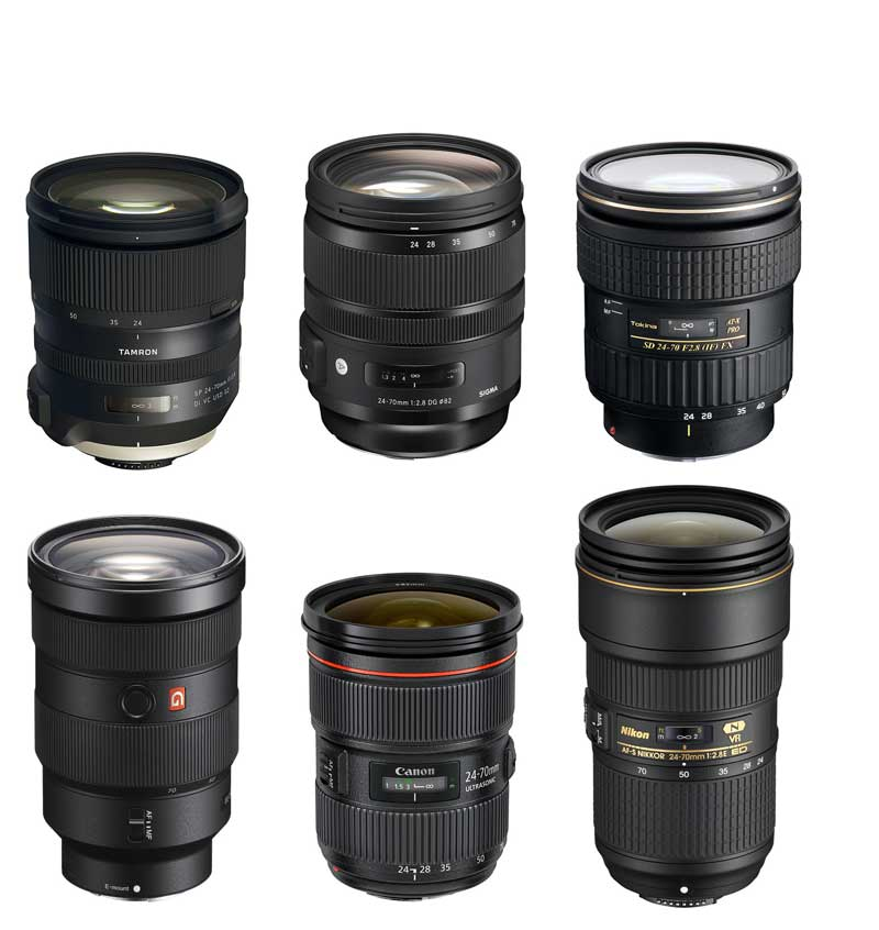 24-70mm f2.8 Zooms