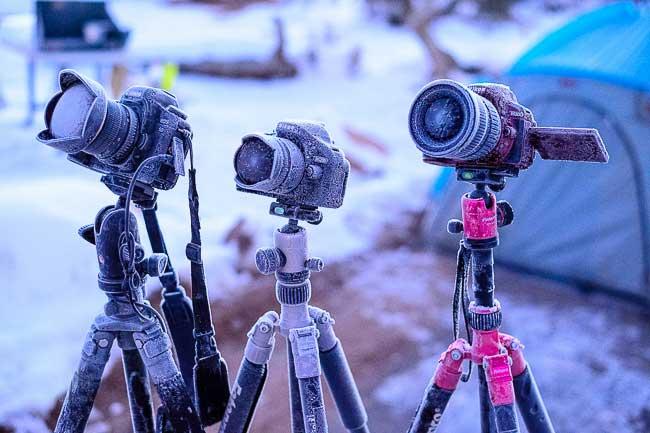 دوربین ها یخ زده اند و این می تواند بد باشد!