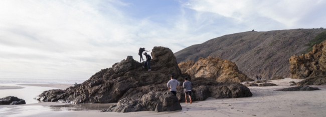 عکاسان منظره مبتدی باید در عکاسی از منظره ماجراجو باشند.