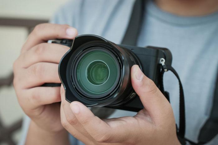 اصطلاح ضریب برش یا کراپ در عکاسی.