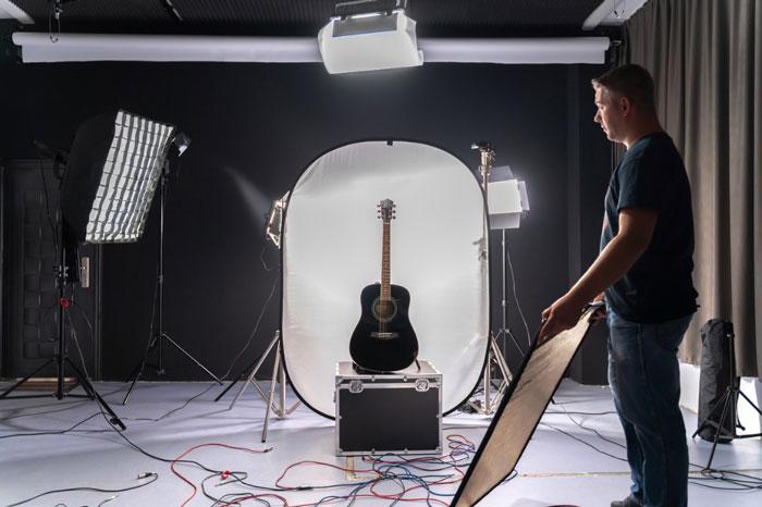 مفهوم اصطلاح نورپردازی در عکاسی.